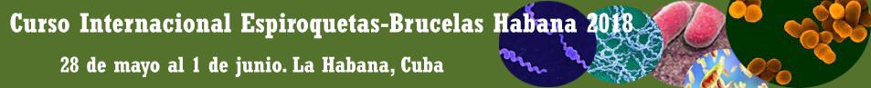 Curso Internacional Espiroquetas-Brucelas Habana 2018
